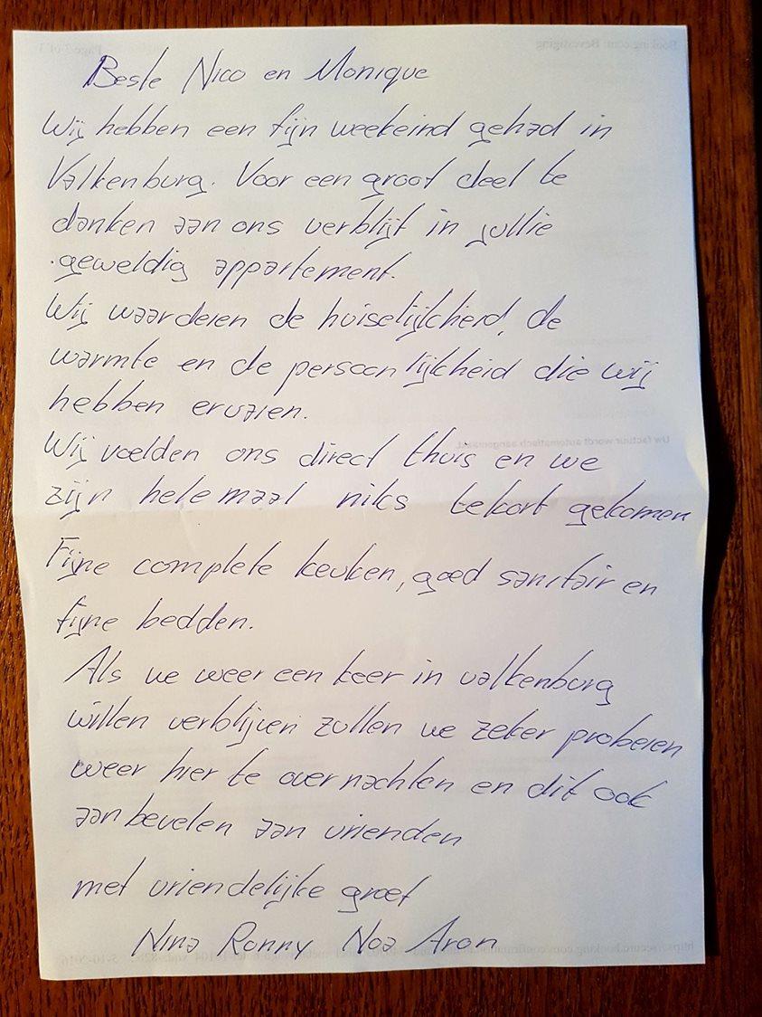 review gasten vakantiehuis zuid-limburg vakantiewoning valkenburg