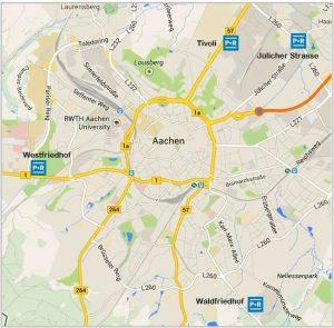 Parkeren Aken - Parken Aachen | Vakantiewoning Valkenburg