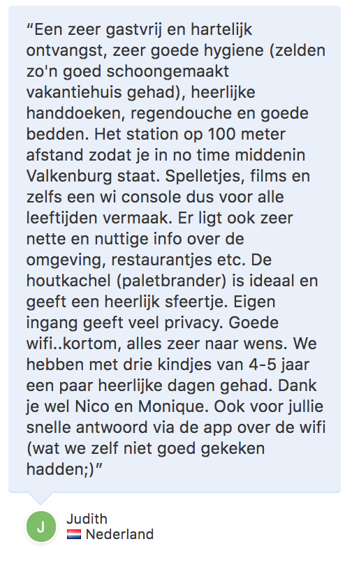 review vakantiehuis-Valkenburg-Maastricht | Vakantiewoning Valkenburg