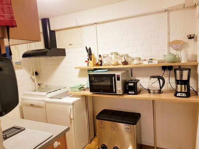 compleet ingerichte keuken bij vakantiewoning valkenburg